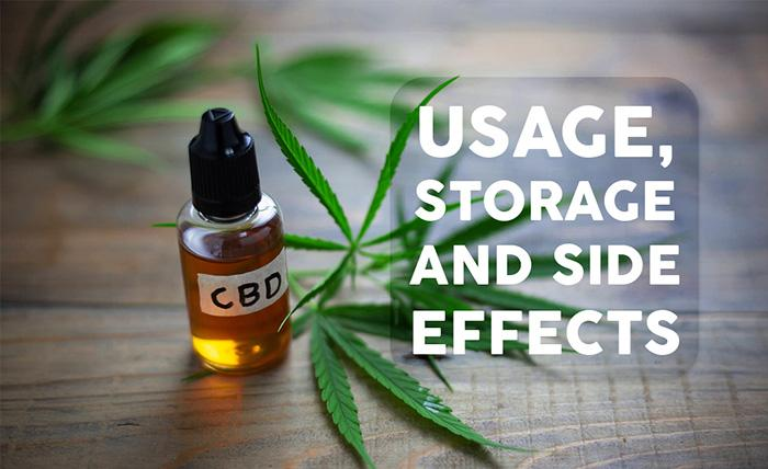 A Guide to CBD Oil: Usage, Storage and Side effects